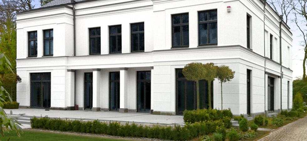 Klassische Villa Neubau villen & luxus-häuser im neo-klassik-stil von architekt heinrich stoeter